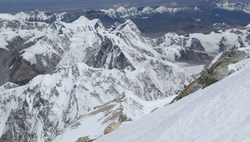 The view from Kanchenjunga